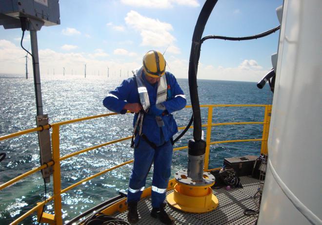 des travaux de soudage offshore