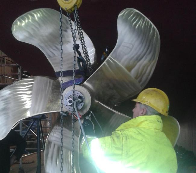 montage propeller