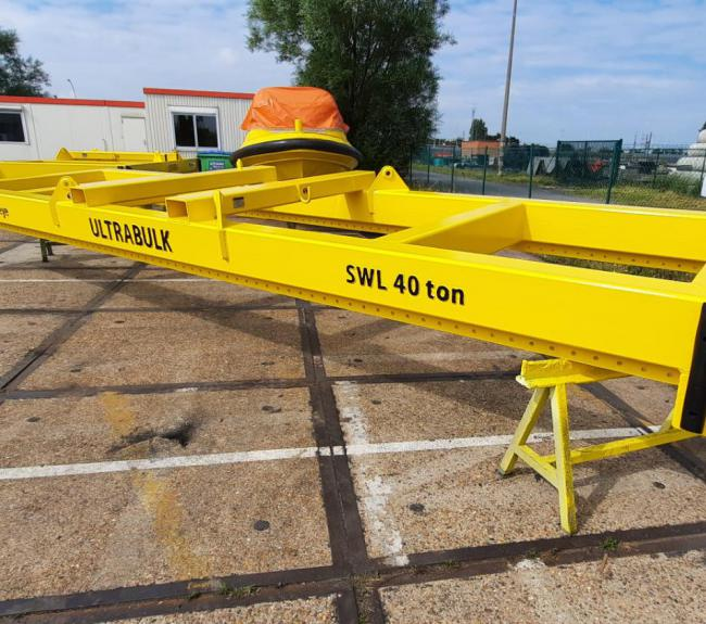 Hoisting beam WLL 40ton