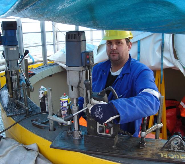 In-situ magnetic drilling