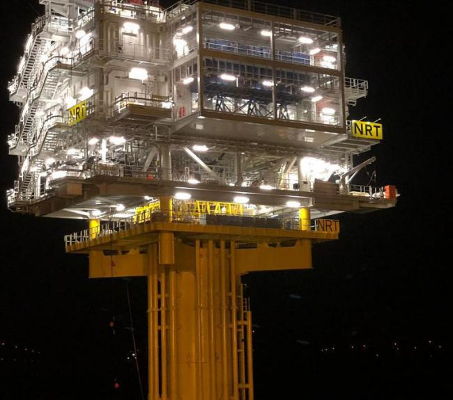 Norther offshore substation