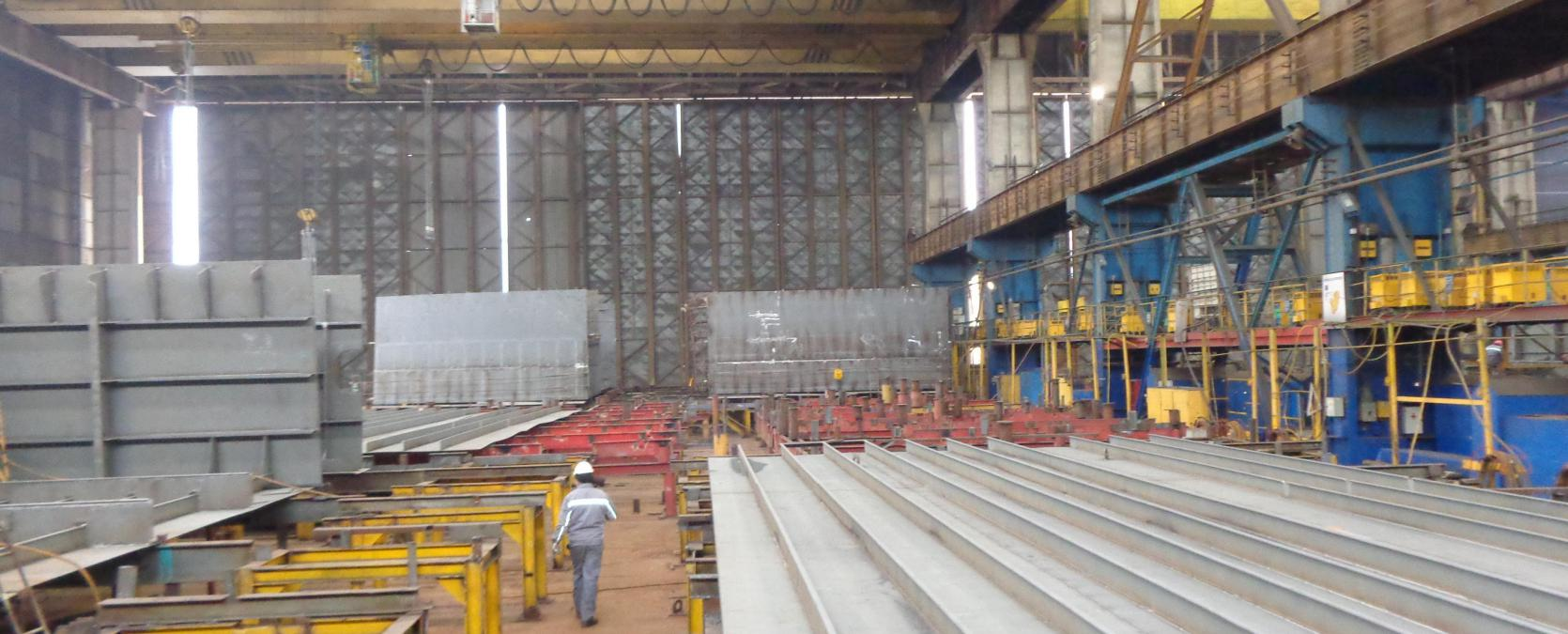 drydock in building phase