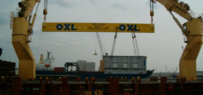spreader bar 360T-26m in high strength steel S690