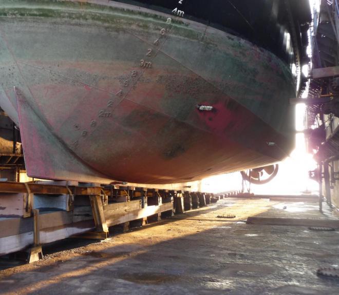 Chambon suroit en dock